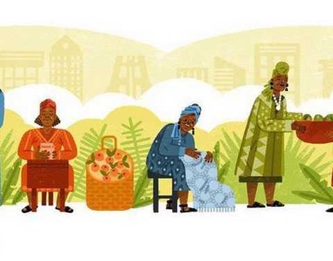 Έσθερ Άφουα Οκλόο, η επιχειρηματίας θρύλος από τη Γκάνα στο doodle της Google | Newsbeast