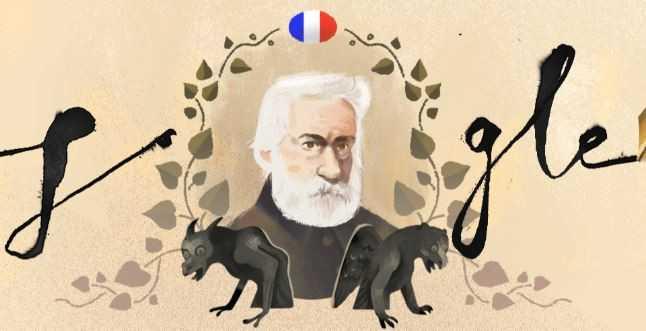 Βίκτωρ Ουγκό, ο μεγάλος φιλέλληνας, στο doodle της Google | Newsbeast